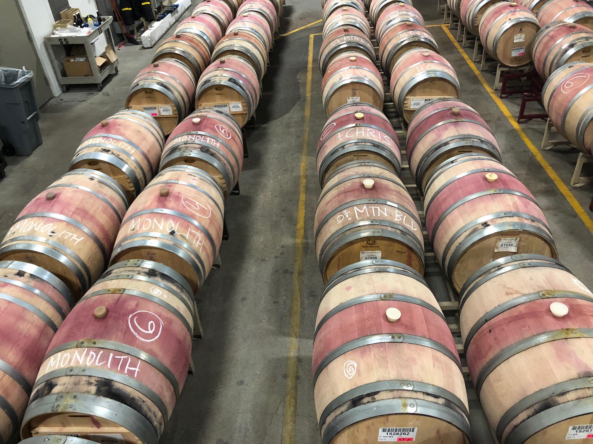 Stonestreet Barrel Selection for Final Blends